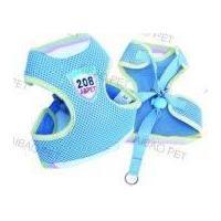 Simple pet harness - blue
