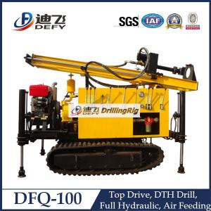 China High Quality of DFQ-100 Portable Pneumatic Drilling Machine with Crawler on sale