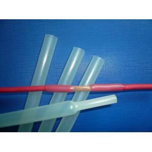China Tube protecteur de téflon de PTFE, tuyauterie de rétrécissement de la chaleur du téflon PTFE on sale