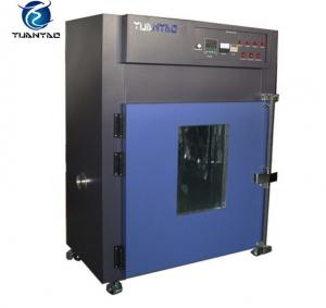 China Lab hot air furnace circulation electronic material heating treatment drying oven on sale