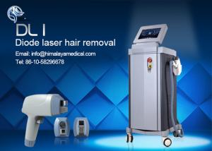 China Strong Power 808nm Diode Laser Depilation Machine 1 - 120J / cm2 Fluence on sale