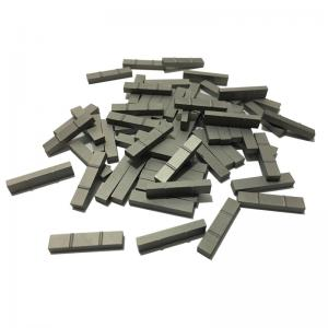 China Durable Magnetic Tungsten Carbide Inserts With Bend Customized Size on sale