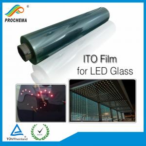 China Transparent Conductive ITO Film For LED Glass on sale