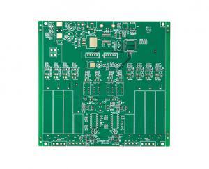 China 2 Layer Pcb Thickness 1.6 Mm FR-4 NANYA Telecommunications Display on sale