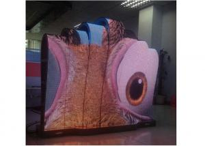 China Indoor P6 Certified Flexible Led Display Module With Large Viewing Angle on sale