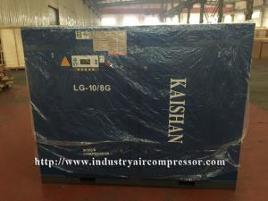 China 424CFM Industrial Reliable Air Compressor , Large Electrical Rotary Screw Gas Compressor on sale