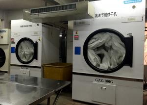 China Commercial Laundry Dryer Machine Extractor 30kg Energy Saving Stainless Steel on sale