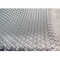 China Length 2.44m Width 1.22m Stainless Steel Expanded Mesh For Chemical Machinery on sale
