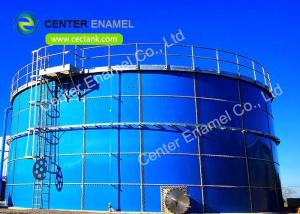 China Glass Fused To Steel Bolted Leachate Storage Tanks Impact And Abrasion Resistance on sale