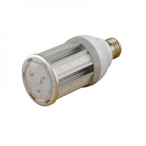China 8W LED Corn Bulb Light for Post Top Retrofit Lamp Lighting Facts ELT/cETL and UL Listed on sale