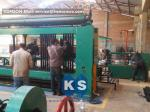 Zinc PVC Wire Gabion Box Machine Overload Protect Clutch Automatic Oil System