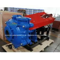 Heavy Duty Hard Metal Lining Slurry Pumps with Zinc Coated Bolts