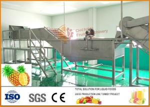 China 304 Stainless Steel Concentrate Pineapple juice Processing Line on sale