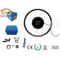 1000W Electric Bike Wheel Motor Kit With Blue Naked Lithium Battery