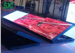China Large Outdoor Led Display Screens Wall Sign IP65 Waterproof Cabinet 256*128 720Hz on sale