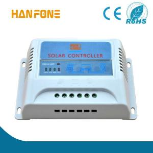 China HANFONG MPPT T20 20A LCD Solar Charge Controller Solar Panel Batteries Charge Regulator PWM Solar Controller on sale