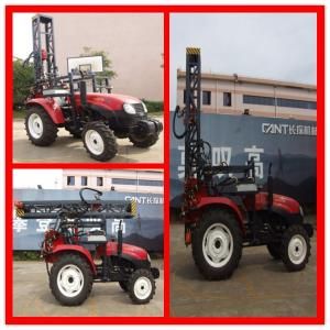 China Mineral Exploration Crawler Hydraulic Drilling Rig High Mobility on sale