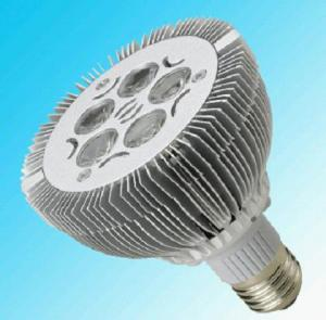 China E27 5x1Watt LED spot light bulbs less than 5% in1000h distribute more light power on sale