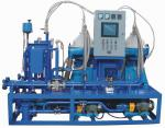 2000-10000 L/H MDO Power Plant Fuel Oil Purifier System , Oil Filtration Equipment