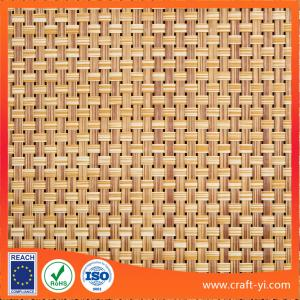 China Rattan color TEXTILENE® 8X8 Patio Furniture Fabric weave for outdoor using on sale