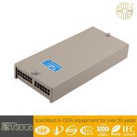 Rack Mounted Fiber Optic Termination Box 90° Open Angle Ample Fiber Storage Space