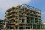 Prefabricated Steel Industrial Buildings / Industrial Metal Buildings Construction