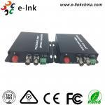 720P / 960P AHD CVI TVI Over Fiber Converter , Multimode Fiber Media Converter