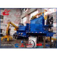 Mobile Hydraulic Metal Compactor Machine Remote Control Diesel Engine with Truck Trailer