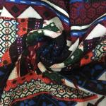 Plain Printed Rayon Fabric 30 X 30 Yarn Count 68 X 60 Density 145cm Width