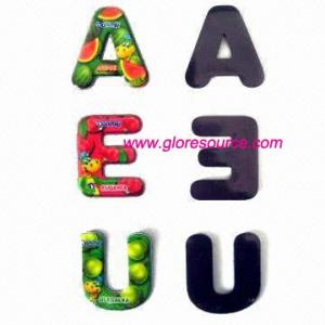 China supply magnetic letters, magnetic alphabets, magnetic numbers on sale
