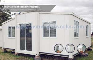 China Portable Expandable Modular Container House:: With CE For Living test gjd on sale
