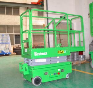 China 240Kg que carga la mini elevación automotora industrial portátil para pintar, limpiando, altura de funcionamiento de los 5m on sale