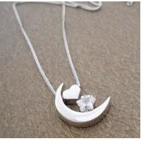 2012 latest design popular and noble 925 sterling silver gemstone pendant for lady