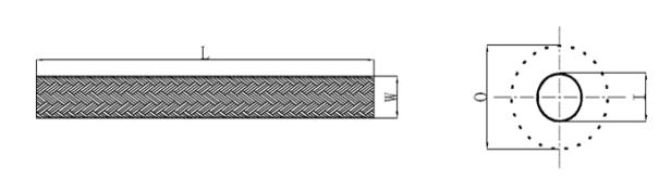 Black Mesh Tube Net Plastic Sleeve For Flexible Wire Cable , Black Flame Retardant Braided Sleeves