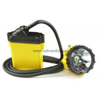 Safety miner cap lamp, KL12LM corded lamp