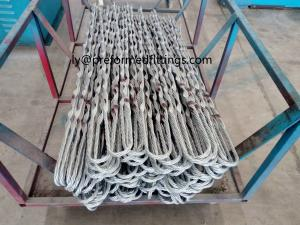 China Preformed armor rods/ preformed helix for termination and protection of Aerial cable. on sale