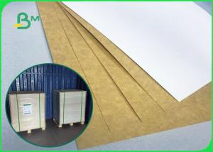 China 250GSM - 360GSM Food Grade White Top Kraft Liner Paper For Food Packing wholesale