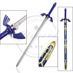 Japan Video Game Replica Swords Zelda Blue Carbon Steel Link Skyward Sword
