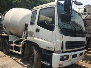 China Used Concrete Mixer for sale, Used ISUZU Diesel Concrete Mixer Truck for sale,Used Isuzu CXZ Concrete Mixer on sale