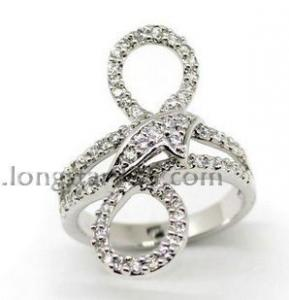 China 925 silver rings jewelry manufacturer on sale