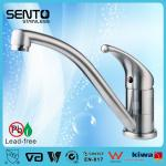 Stainless steel single handle kitchen faucet for home, EN817 certificated