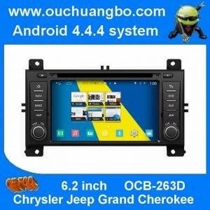 China ouchuangbo s160 android 4.4 car sat nav head unit for Chrysler Jeep Grand Cherokee with Built-in FM /AM radio tuner on sale