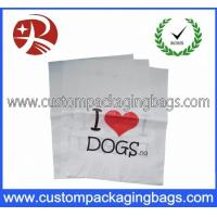 Personalized Carrier PO Die Cut Handle Plastic Bags For Store