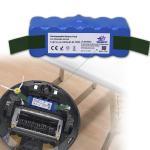 batteries de Li-ion de 14.8V 6400mAh pour l'aspirateur d'Irobot Roomba 500 600 700 800 séries