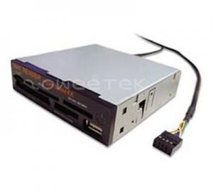China 3,5 медленно двиньте внутренний читатель карты (СД/ММК + МС (3 в 1) + микро- СД + ксД/СМ + КФ + УСБ) - (ЗВ-13008) on sale