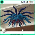 Summer Indoor Festival Event Party Decoration Hanging Inflatable Flower