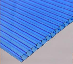 China Heat Insulation Light Weight multiwall Polycarbonate Hollow Sheet For Skylight on sale