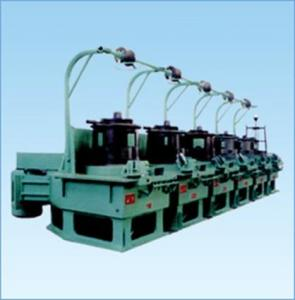 China wire drawing machine for welding electrode production line supplier