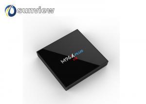 China M96X Plus Amlogic S912 Qcta Core Lastest Kodi Box Android 7.1 IPTV Box on sale
