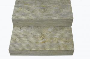 China Thermal Insulation Rockwool Board 600mm Width For Exhaust Flues , Boilers on sale